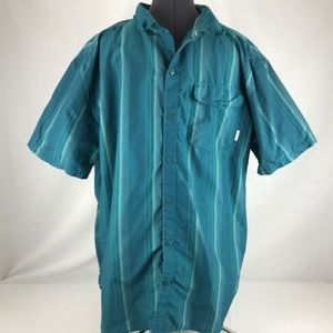 Columbia Vented Short Sleeve Button-Down XXL